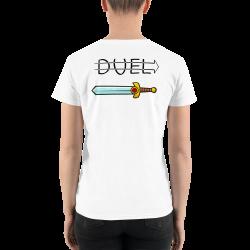 Duel! The Women's V-Neck Shirt